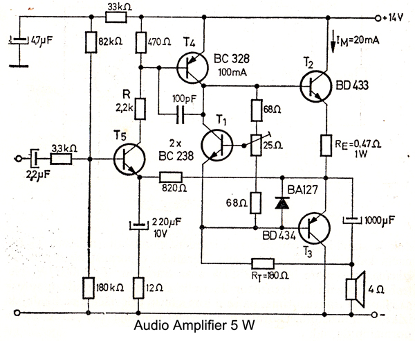 audio schematics